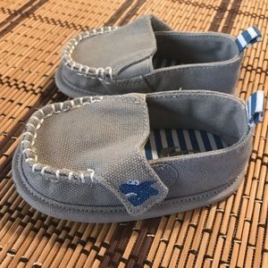 Baby boy children's place loafers size 3-6 months